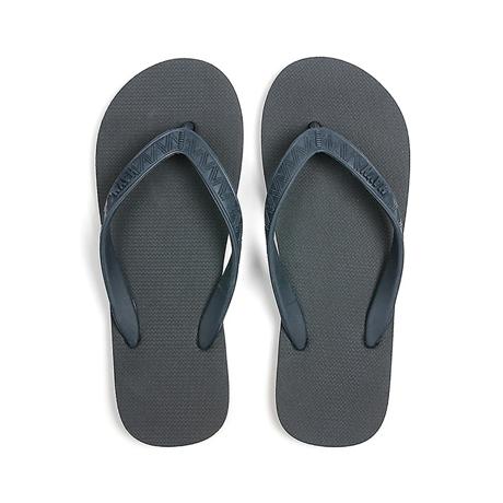 ハワイ生まれのLOHASなビーチサンダル|TONAL (MEN) Charcoal | 足も心も気持ちいい、ハワイ生まれのビーチサンダル|US8(26cm)