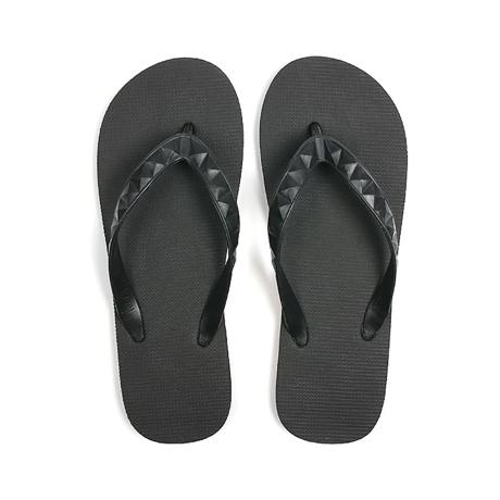 ハワイ生まれのLOHASなビーチサンダル|STUDDED (MEN) Lava Rock | 足も心も気持ちいい、ハワイ生まれのビーチサンダル|US9(27cm)