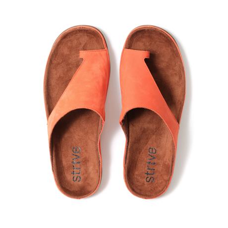 スニーカー感覚で歩き回れる「サンダル」|CAPRIマイクロファイバーインソール(22-22.5cm) 独自開発の立体インソールで、スニーカーみたいに歩き回れる「サンダル」|タイガーリリー(在庫限り)