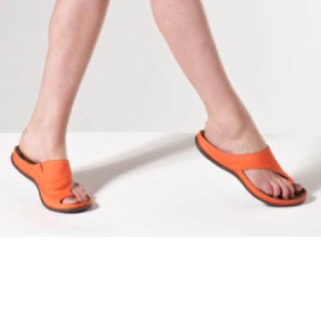 スニーカー感覚で歩き回れる「サンダル」|CAPRIマイクロファイバーインソール (24-24.5cm) 独自開発の立体インソールで、スニーカーみたいに歩き回れる「サンダル」|タイガーリリー