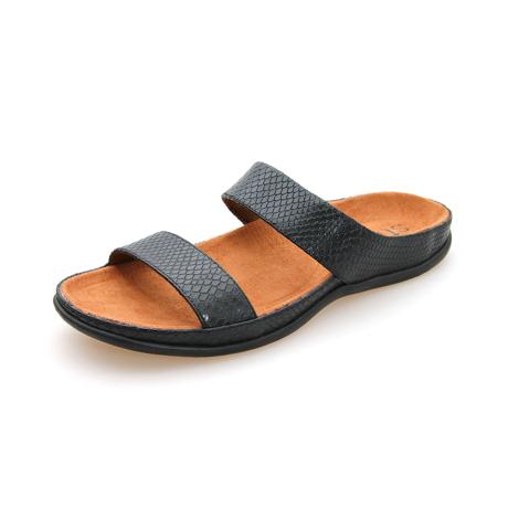 スニーカー感覚で歩き回れる「サンダル」|LOMBOK (24-24.5cm) 独自開発の立体インソールで、スニーカーみたいに歩き回れる「サンダル」|ブラック・リザード