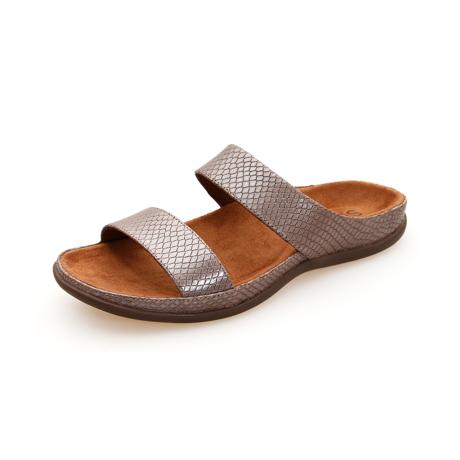 スニーカー感覚で歩き回れる「サンダル」|LOMBOK (25-25.5cm) 独自開発の立体インソールで、スニーカーみたいに歩き回れる「サンダル」|シャンパン・リザード