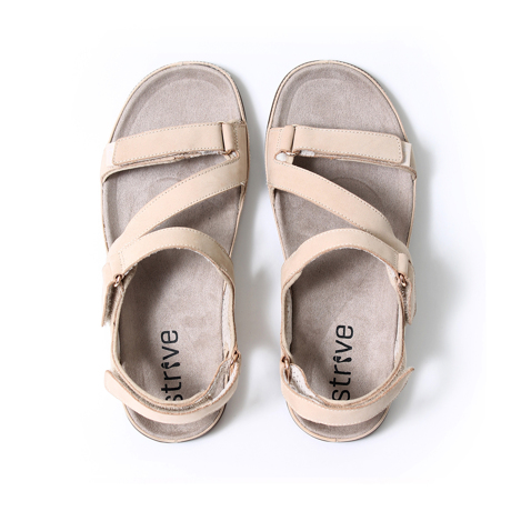 スニーカー感覚で歩き回れる「サンダル」|MONTANA (22-22.5cm) 独自開発の立体インソールで、スニーカーみたいに歩き回れる「サンダル」|オクスフォードタン(在庫限り)