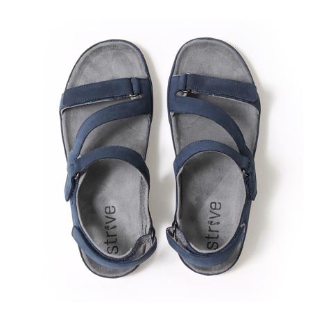 スニーカー感覚で歩き回れる「サンダル」|MONTANA (25-25.5cm) 独自開発の立体インソールで、スニーカーみたいに歩き回れる「サンダル」|ネイビー(在庫限り)