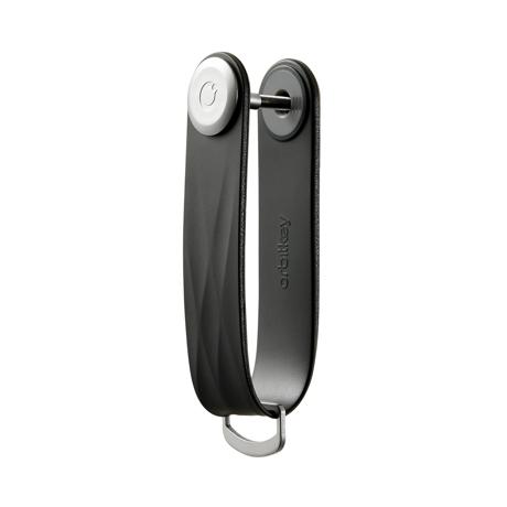 『鍵収納』をデザインする|《アクティブ》もうドア前で迷わない。「鍵収納」を追求したスリムなキーケース|Orbitkey|Jet Black