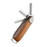 『鍵収納』をデザインする|《オール本革》もうドア前で迷わない。「鍵収納」を追求したスリムなキーケース|Orbitkey|Tan / White