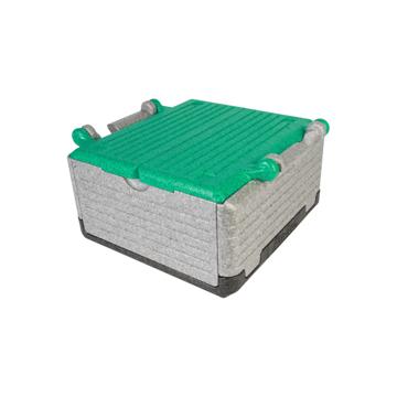 """あなたのワガママに応える""""魔法の箱"""" 《レギュラー》まるで""""魔法の箱""""、軽くて丈夫なたためるクーラーボックス(23ℓ) Flipbox グリーン"""