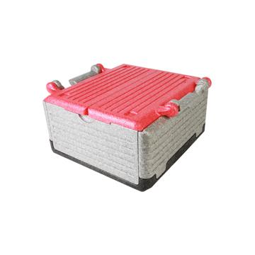 """あなたのワガママに応える""""魔法の箱"""" 《レギュラー》まるで""""魔法の箱""""、軽くて丈夫なたためるクーラーボックス(23ℓ) Flipbox レッド"""