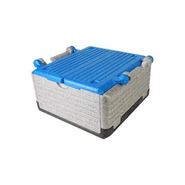 """あなたのワガママに応える""""魔法の箱"""" 《レギュラー》まるで""""魔法の箱""""、軽くて丈夫なたためるクーラーボックス(23ℓ) Flipbox ブルー"""