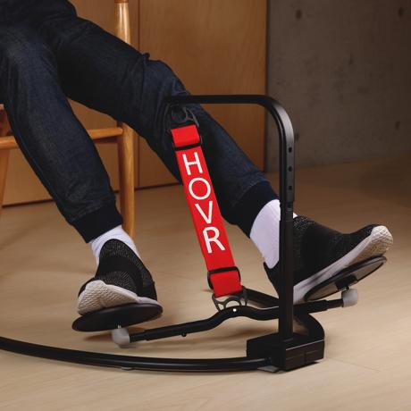 運動不足は、座りながら解消!|《置くだけタイプ》デスクでの5時間が30分のウォーキングに。座りながら運動不足を解消 | HOVR|レッド
