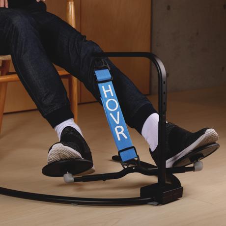 運動不足は、座りながら解消!|《置くだけタイプ》デスクでの5時間が30分のウォーキングに。座りながら運動不足を解消 | HOVR|ライトブルー