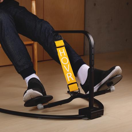 運動不足は、座りながら解消!|《置くだけタイプ》デスクでの5時間が30分のウォーキングに。座りながら運動不足を解消 | HOVR|イエロー