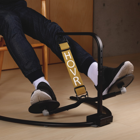 運動不足は、座りながら解消!|《置くだけタイプ》デスクでの5時間が30分のウォーキングに。座りながら運動不足を解消 | HOVR|ゴールド