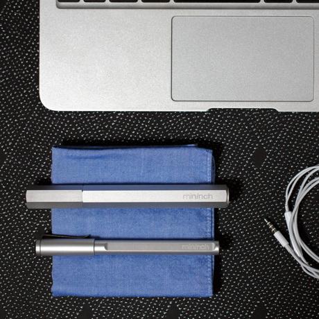 """持っているだけで""""ステイタス""""な工具 《フルセット》まるでロケット鉛筆、先端ビットを次々交換できる世界初の工具 mininch"""