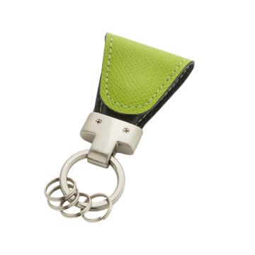 いつも「鍵」はそこにある|《ジャーマンカーフ》もう迷子にならない、「鍵」の定位置が見つかるマグネット付きキーホルダー|green