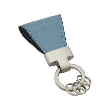 いつも「鍵」はそこにある|《ジャーマンカーフ》もう迷子にならない、「鍵」の定位置が見つかるマグネット付きキーホルダー|light blue