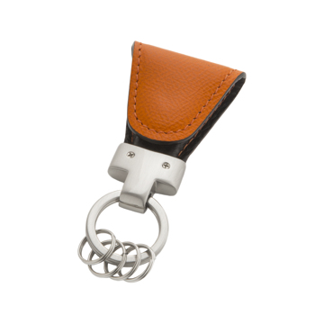 いつも「鍵」はそこにある|《ジャーマンカーフ》もう迷子にならない、「鍵」の定位置が見つかるマグネット付きキーホルダー|orange