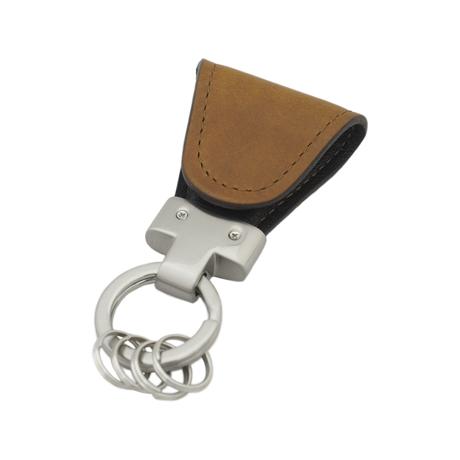 いつも「鍵」はそこにある|《イタリアンオイル》もう迷子にならない、「鍵」の定位置が見つかるマグネット付きキーホルダー|brown