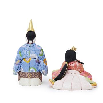 『毎年の幸せ』が御嬢様と家族に訪れる|《鹿沼組子 - 六角形(大)》7つの日本伝統工芸をコンパクトにした、木目込みプレミアム雛人形 | 宝想雛|