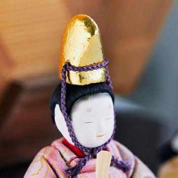 『毎年のしあわせ』が御嬢様と家族に訪れる|《六角形/小》7つの日本伝統工芸をコンパクトにした、木目込の「プレミアム雛人形」※第二期受注分 | 宝想雛|