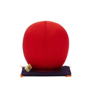 福よこいこい『招福だるま』|《風水・2色》伝統の木目込み技術とモダンデザインが出逢った願掛けだるま|赤