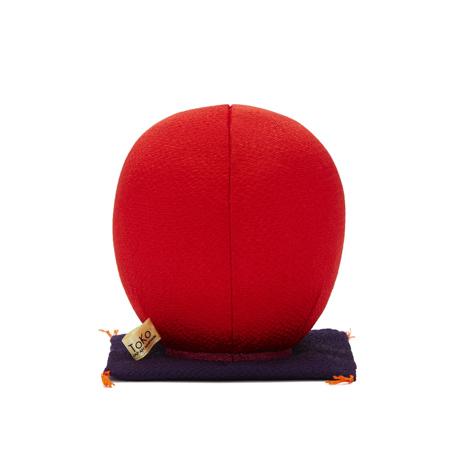 福よこいこい『招福だるま』|《風水・2色》伝統の木目込み技術とモダンデザインが出逢った願掛けだるま