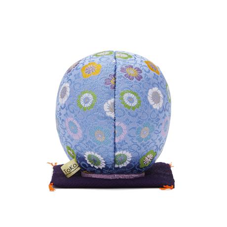 福よこいこい『招福だるま』|《西陣織り・3色》伝統の木目込み技術とモダンデザインが出逢った願掛けだるま|青