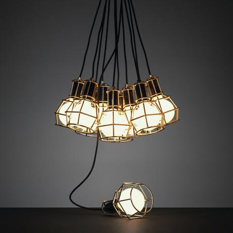リラックスには『オレンジの灯』 【在庫限り】《Work Lamp》「光」を味方にリラックス、快眠習慣をもたらす間接照明(24k gold)   DESIGN STOCKHOLM 