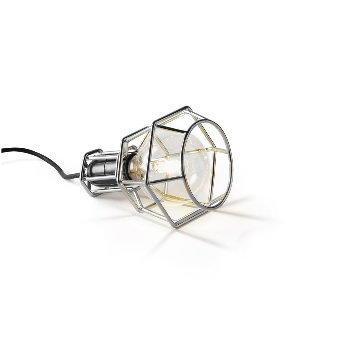 リラックスには『オレンジの灯』|【在庫限り】《Work Lamp》「光」を味方にリラックス、快眠習慣をもたらす間接照明(chrome) | DESIGN STOCKHOLM