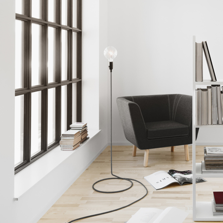 リラックスには『オレンジの灯』|【在庫限り】《Cord Lamp》「光」を味方にリラックス、快眠習慣をもたらす間接照明 | DESIGN STOCKHOLM|