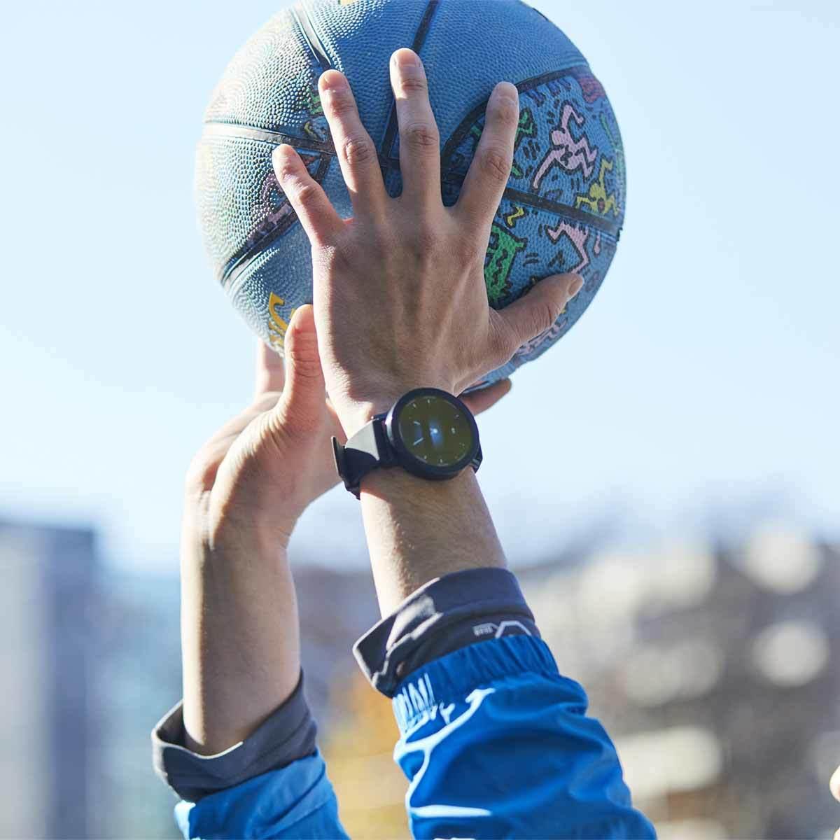 """腕時計で、""""直感的""""にカラダの管理 *在庫限り タッチスクリーン・完全防水・心拍センサー・音楽プレーヤー搭載。活動量計を超えたスマートウォッチ   Misfit Vapor"""