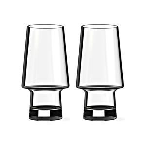 吹き込みガラス200年の歴史と人間工学デザイン、職人が一つ一つ丁寧に吹き込んだグラス(ペアセット) | MAGISSO × MUURLA