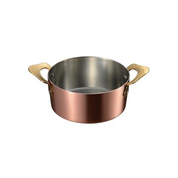 煮込み料理やソースづくり、カラメル、ジャムづくりに「銅の小鍋」|ameiro