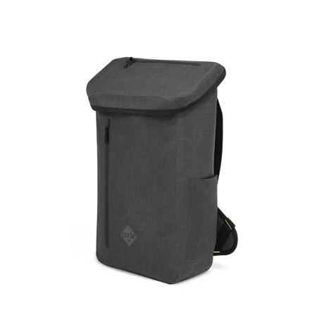 サーファーが開発した「防水バックパック Code 10」|《DAYPACK》全面に衝撃吸収パッドを内蔵。防水構造・ハイテク収納を搭載したシティバックパック| Code 10|BLACK