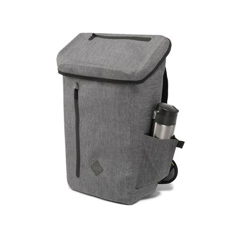 サーファーが開発した「防水バックパック Code 10」|《DAYPACK》全面に衝撃吸収パッドを内蔵。防水構造・ハイテク収納を搭載したシティバックパック| Code 10|GREY
