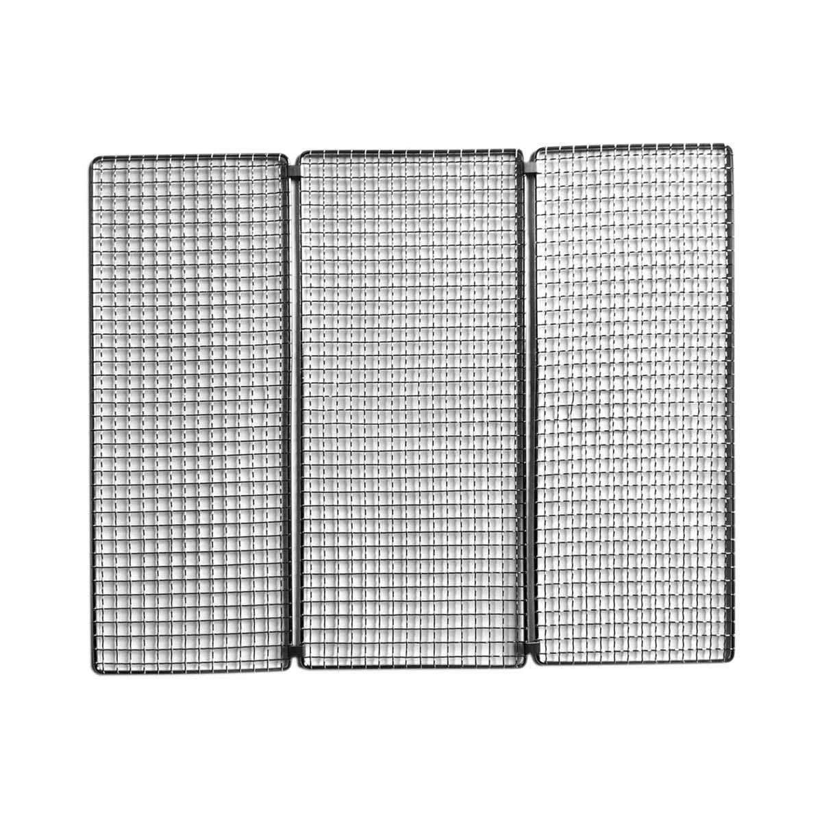 薄さ3cmのバーベキューグリル 《交換用》焼網 メッシュグリル(Notebook専用)