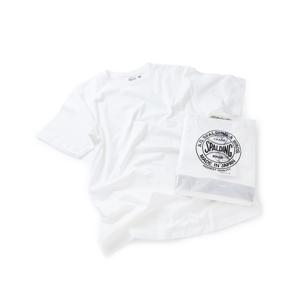 "《WHITE》他にはない'""表情""と""着心地""を追求。着回しに便利な2枚組パックTシャツ | A.G. Spalding & Bros."