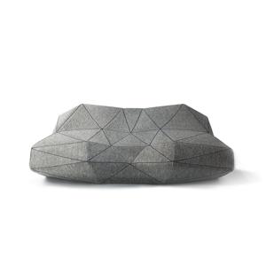 スピーカー内蔵、人間工学デザインでリラックスできる52面体の枕|PILO(iPhone充電しながら、音楽が聴けるアダプタ付き特別セット)