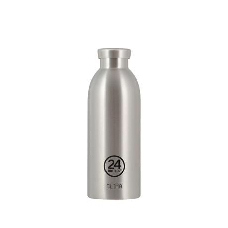 いつでも持ち歩きたくなる「マイボトル」|驚異の保冷24時間、保温12時間 – 環境にも優しい、スタイリッシュなイタリアデザイン・ステンレスボトル | CLIMA BOTTLE 500ml|Steel