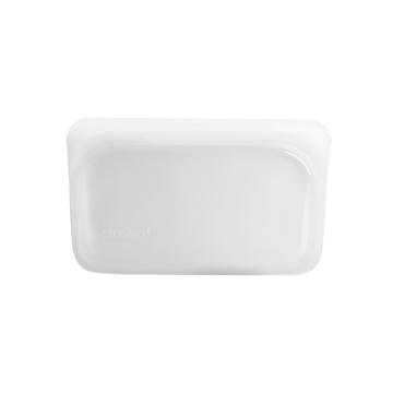 3000回加熱・冷凍できる密閉シリコンバッグ|《293.5ml/スナック》食材の密閉保存から調理まで、これひとつでOK!繰り返し使えるマルチバッグ|stasher|クリア