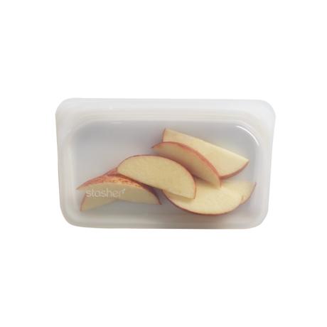 3000回加熱・冷凍できる密閉シリコンバッグ|《293.5ml/スナック》食材の密閉保存から調理まで、これひとつでOK!繰り返し使えるマルチバッグ|stasher