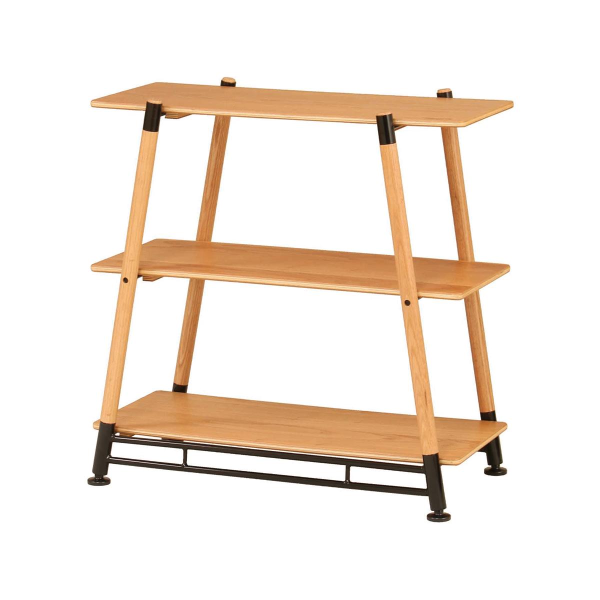"""大自然が""""あなたの部屋""""になる家具 《3段ラック》家具メーカーが本気で考えた、家でも外でも寛げるキャンプ用品 Hang Out"""