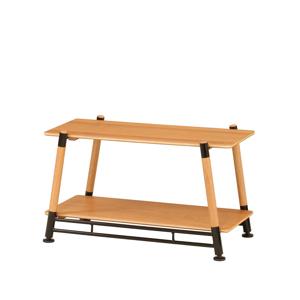 《2段ラック》家具メーカーが本気で考えた、家でも外でも寛げるキャンプ用品|Hang Out