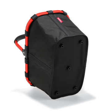 楽しさを運べる「マルチバスケット」|たっぷり収納できて重いモノも安心、折りたたんで収納できるマルチバスケット|RED/BLACK