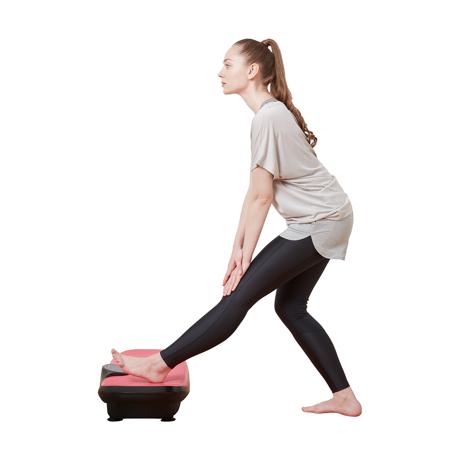 朝ドラを見ながら、15分ブルブル習慣|体幹を鍛えて若々しい体をつくる振動ボード|ドクターエア 3Dスーパーブレード/スマートモデル|PINK
