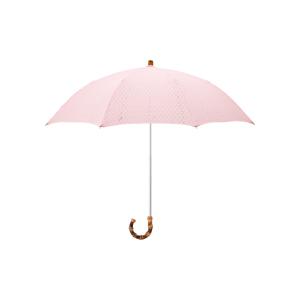 《日傘・折りたたみ傘》大人の女性が持ちたい、ドット柄のレース刺繍が優雅な日傘|BON BON STORE