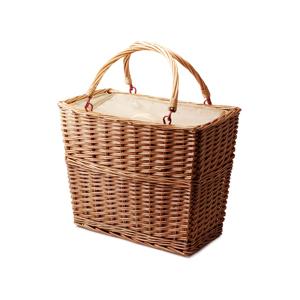 見た目は伝統的なカゴ、実は、便利な保冷バッグ|チェルシーフードクーラー