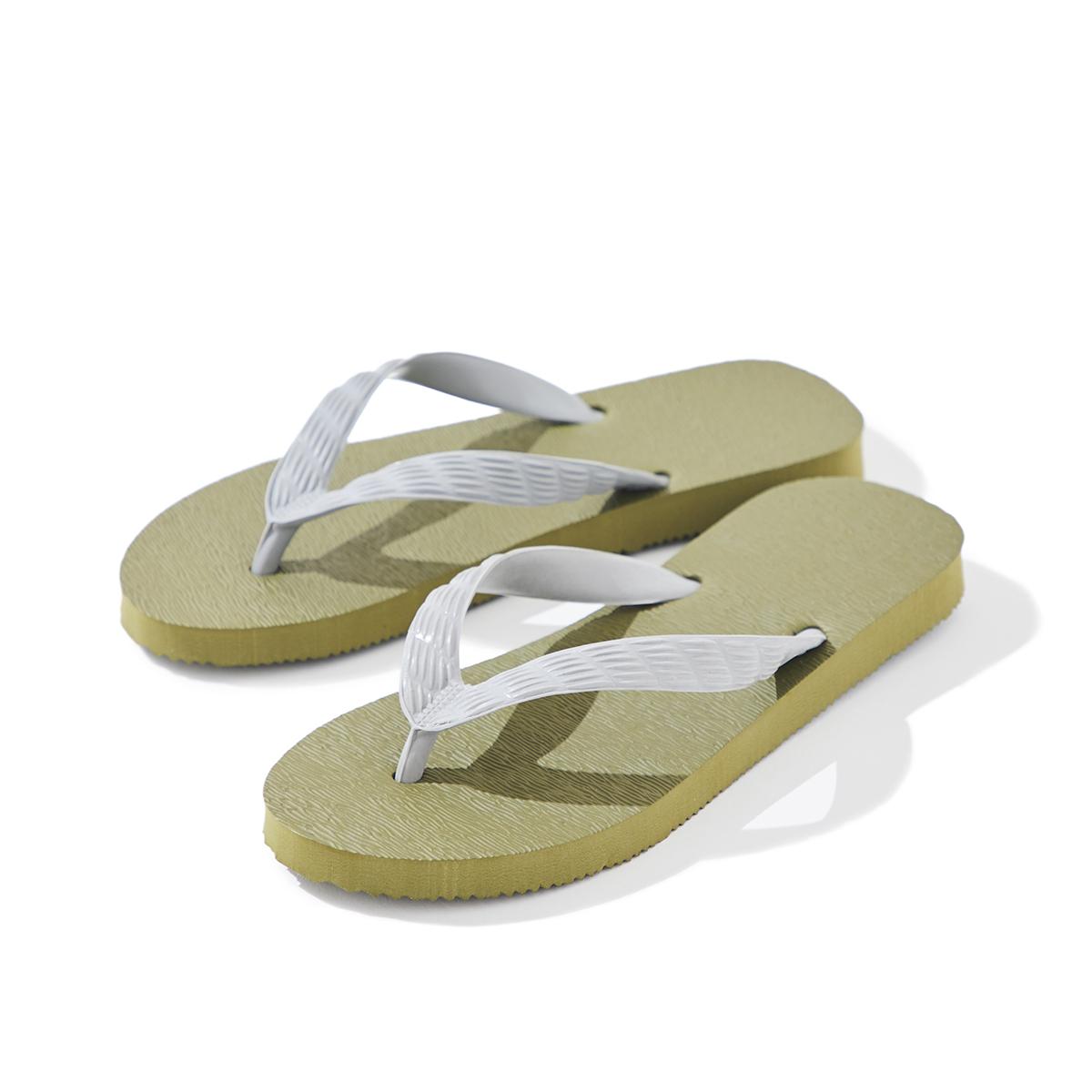 """""""裸足より気持ちいい""""ビーチサンダル 《Lサイズ 27cm》日本人の足型に沿った、歩きやすいビーチサンダル"""