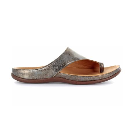 スニーカー感覚で歩き回れる「サンダル」|CAPRIレザーインソール (22-22.5cm) 独自開発の立体インソールで、スニーカーみたいに歩き回れる「サンダル」|strive|Antracite