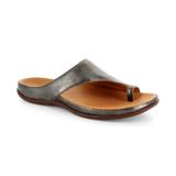 スニーカー感覚で歩き回れる「サンダル」|CAPRIレザーインソール (23-23.5cm) 独自開発の立体インソールで、スニーカーみたいに歩き回れる「サンダル」|strive|Antracite